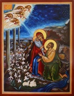 Jesu födelse 10x13 cm