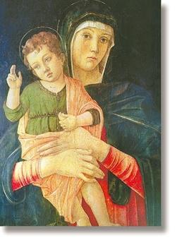 Madonna (Bellini), 90x65 mm
