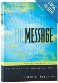 Message Pocket New Testament Psalms and Proverbs, Eugene H. Peterson