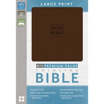 Premium Value Thinline Bible - NIV - Large Print - New International Version