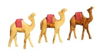 Kamel, olivträ 10 cm