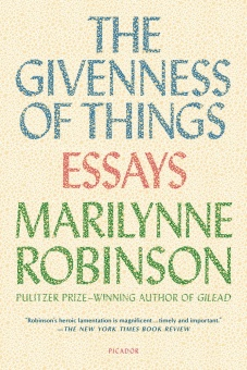 Givenness of Things: Essays