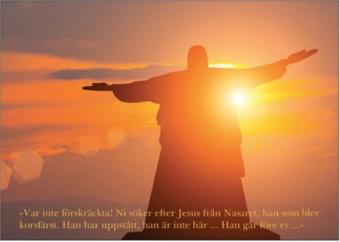Vykort 010: Kristusstaty Var inte förskräckta!