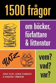 1500 frågor om böcker, författare och litteratur