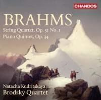 String Quartet, Op. 51 No.1, Piano Quintet, Op. 34