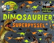 Dinosaurier: 4 pysselböcker i ett paket