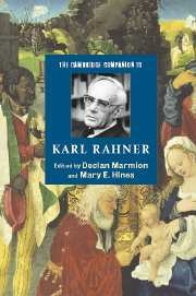 Cambridge Companion to Karl Rahner