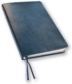 Bibel, slimline, röd hårdpärm, utan apokryfer