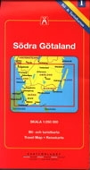 Södra Götaland,1: Skala 1:250 000