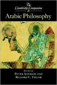 Cambridge Companion to Arabic Philosophy