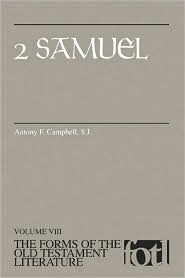 2 Samuel - the Forms of the Old Testament Literature vol. VIII