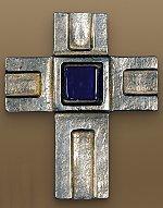 Kors i metall, 9cm