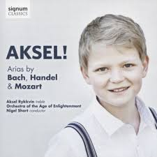 Aksel! - Arias by Bach, Handel and Mozart
