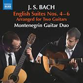 English Suites Nos. 4-6 (arr. for 2 guitars)  - Montenegrin Guitar Duo