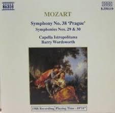 Symphonies Nos. 38, 29 & 30
