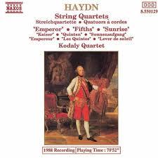 String Quartets (Emperor / Fifths / Sunrise)