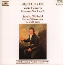 Violin Concerto: Romances Nos. 1 & 2