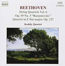 String Quartets Vol. 6: Op. 59 No 3 'Razumovsky' / Quartet in E flat major, Op. 127