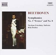 Symphonies: No. 3 Eroica and No. 8