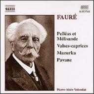 Pelléas et Mélisande / Valses-caprices / Mazurka / Pavane  - Pierre Alain Volondat (piano)