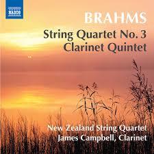 String Quartet No. 3 & Clarinet Quintet - New Zealand String Quartet