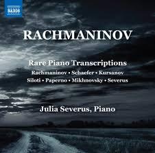 Rare Piano Transcriptions  - Julia Severus