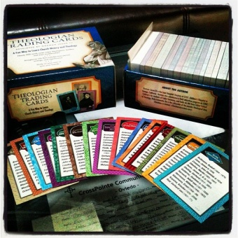 Theologian Trading Cards: A Fun Way to Learn Church History and Theology  (card box/kortask)