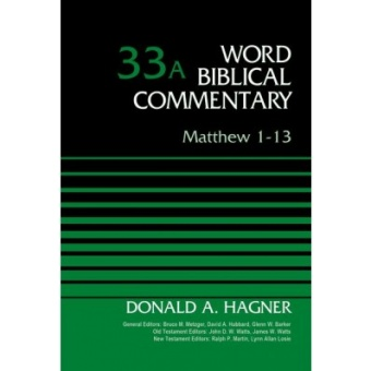 Matthew 1-13, Volume 33A