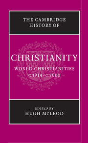Cambridge History of Christianity 9 Volume Set
