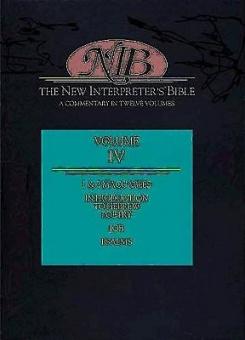 New Interpreter's Bible Vol. IV