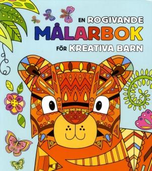 En rogivande målarbok för kreativa barn