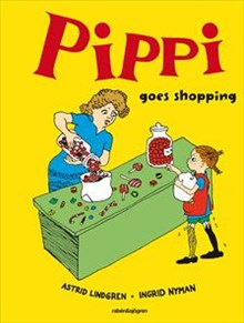 Pippi goes shopping - Illustratör: Vang Nyman, Ingrid - Översättare: Turner, Marianne