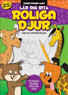 Lär dig rita roliga djur som en serietecknare