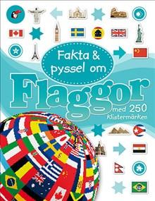 Flaggor med 250 Klistermärken