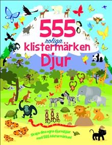 555 roliga klistermärken: Djur