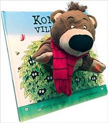 Konrad vill leka - bok med handdocka