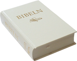 Folkbibeln 2015, hård pärm, vit, 133x200 mm - Vigselbibel