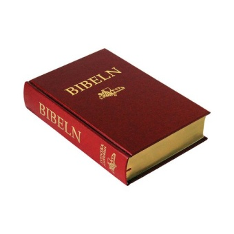 Folkbibeln 2015, hård pärm, röd, 133x200 mm