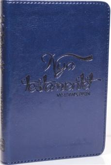 Nya Testamentet, fickformat, Nya levande bibeln, blå