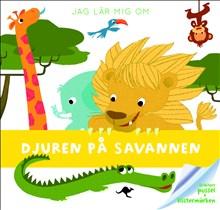 Djuren på savannen - 12-bitars pussel + klistermärken