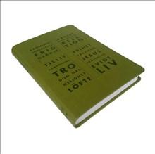 Folkbibeln, konfirmand, grön