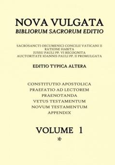 Nova Vulgata - volume 1