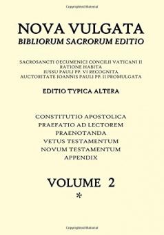 Nova Vulgata - volume 2