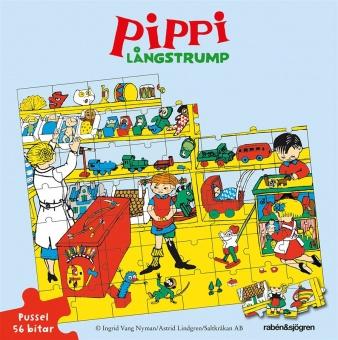 Pippi Långstrump - 56 bitar
