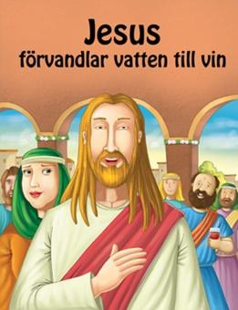 Jesus förvadlar vatten till vin