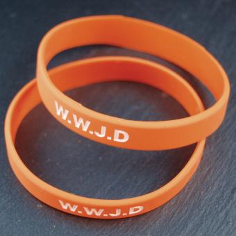 WWJD orange