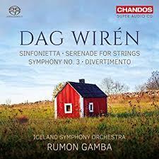Sinfonietta; Serenade for Strings; Symphony No. 3; Divertimento  -Rumon Gamba