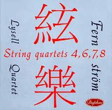 Stråkkvartetter nr 4,6,7,8  - Lysellkvartetten