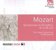 Symphonies no. 35 Haffner & no. 36 Linz