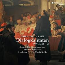 Dialogkantaten BWV32, 49 & 57  - Sophie Karthäuser